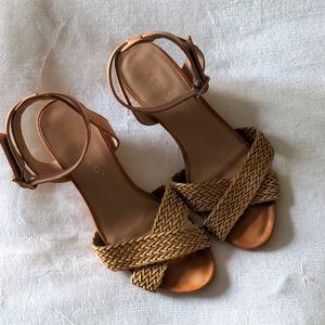 Pesaro Braided Wedge Heels
